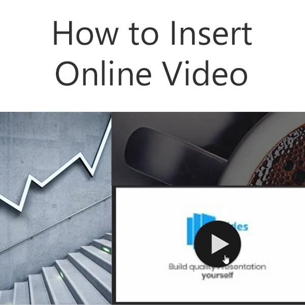 how to insert Online video Thumbnail